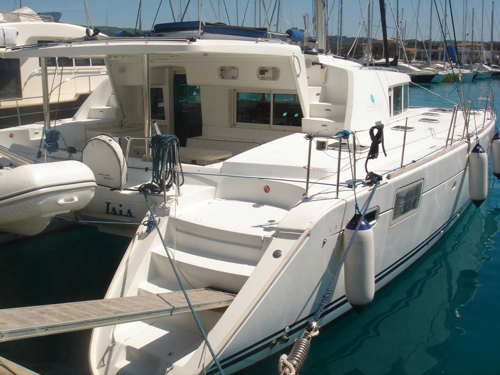 Boat rental Olbia cheap Lagoon 440