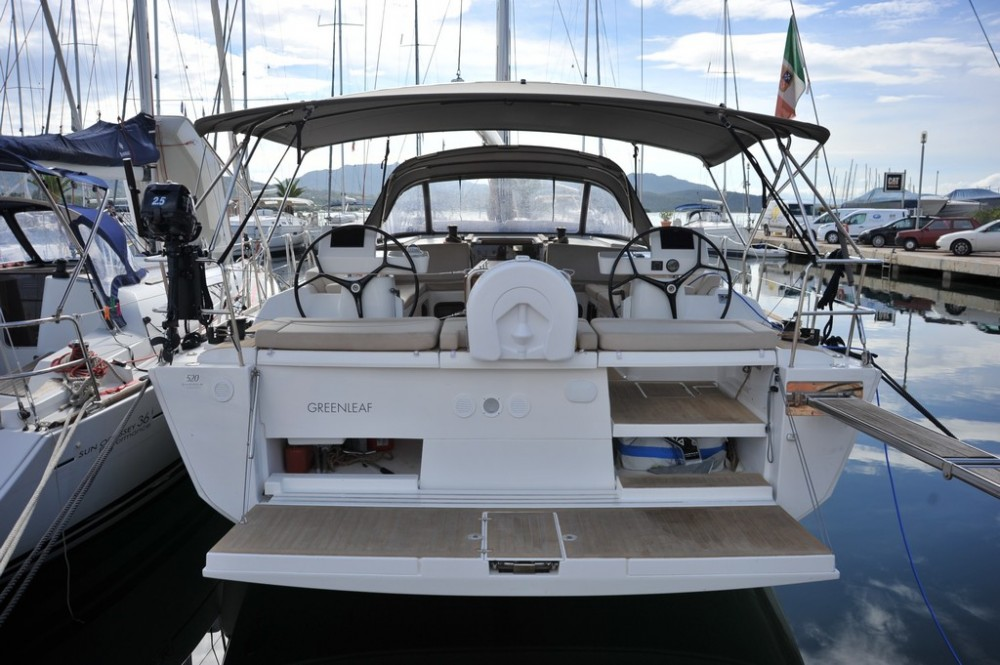 Rental yacht Olbia - Dufour Dufour 520 GL on SamBoat
