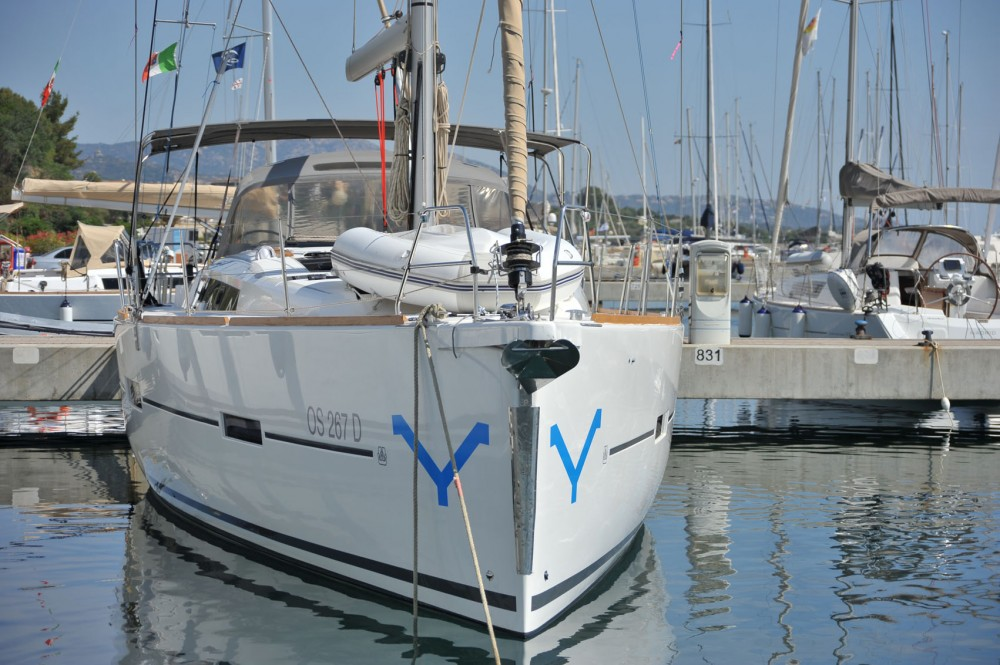 Dufour Dufour 460 Grand Large between personal and professional Olbia