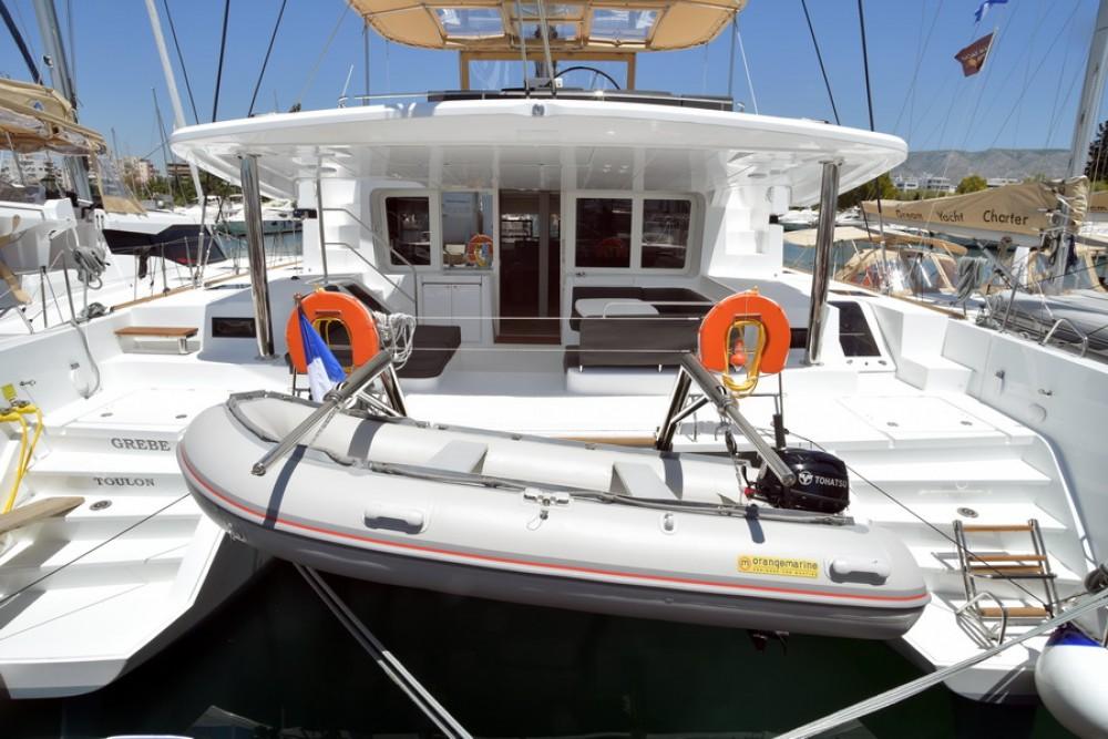 Boat rental Athènes cheap Lagoon 52