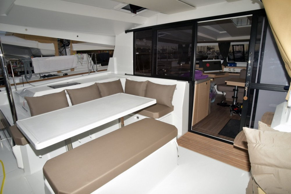 Rental Catamaran in Athens - Fountaine Pajot Astrea 42