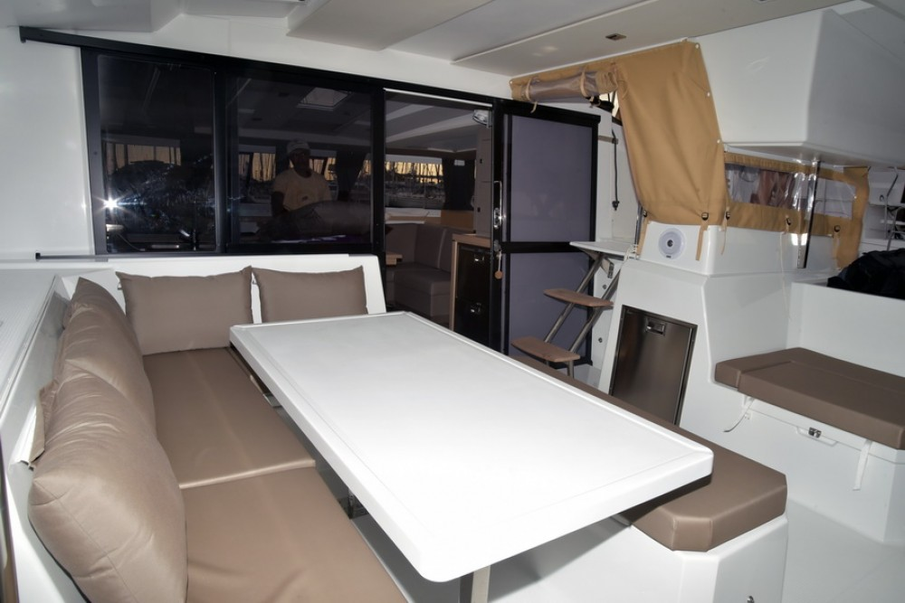 Fountaine Pajot Astrea 42 between personal and professional Athens