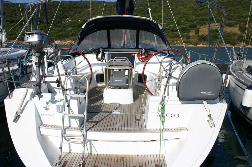 Jeanneau Sun Odyssey 44i between personal and professional Canary Islands