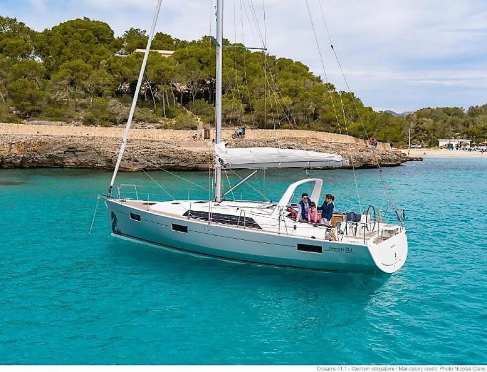 Boat rental Laurium cheap Oceanis 41.1