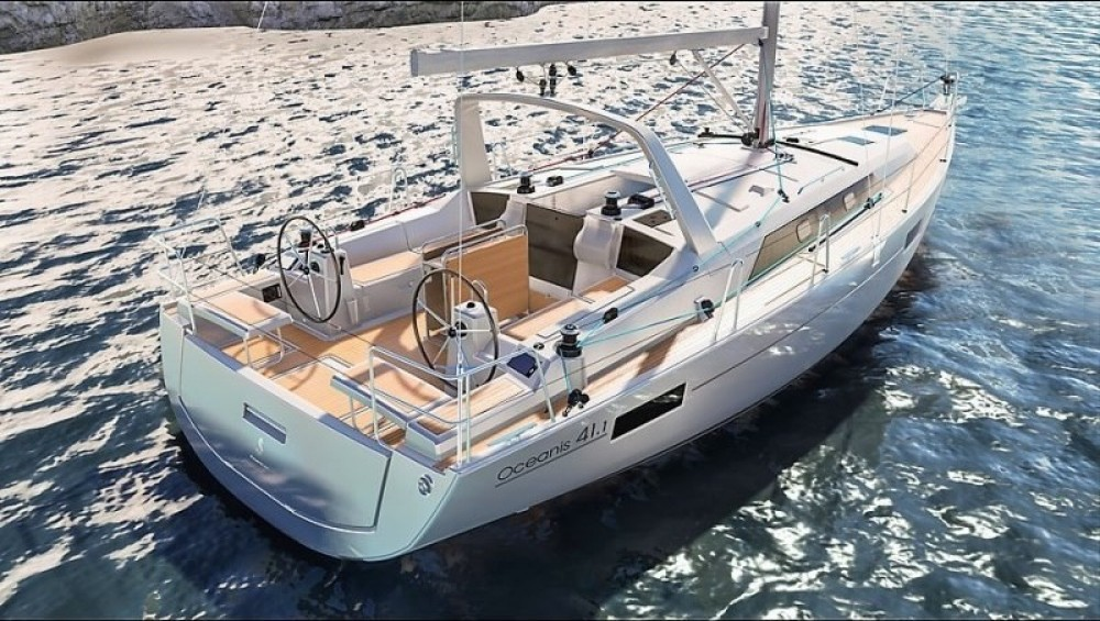 Rental Sailboat in Laurium - Bénéteau Oceanis 41.1