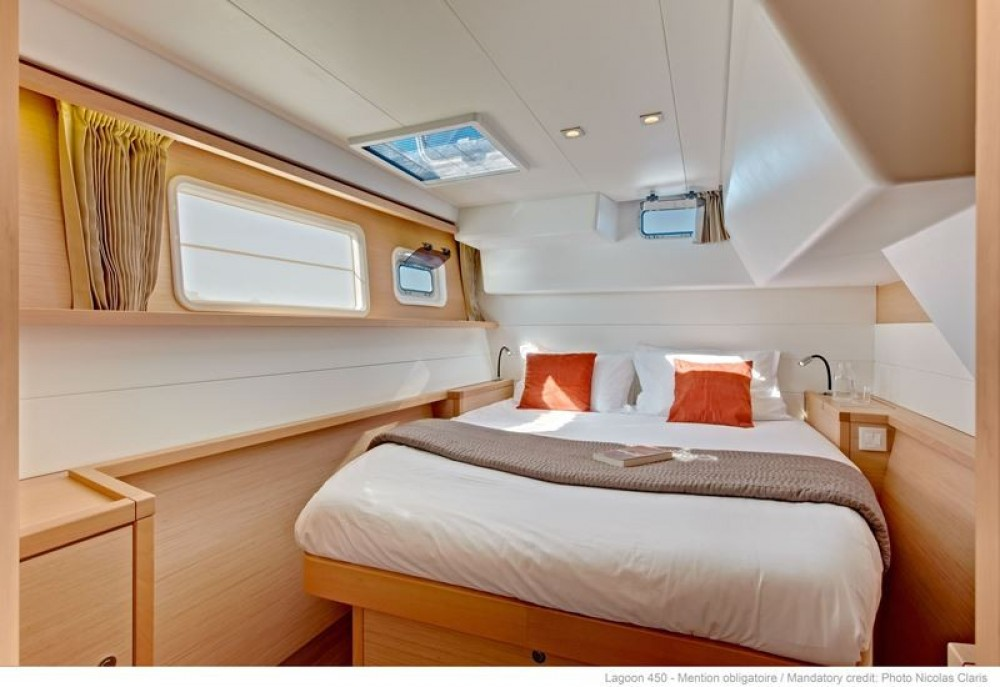Rental yacht Corfu - Lagoon Lagoon 450 on SamBoat