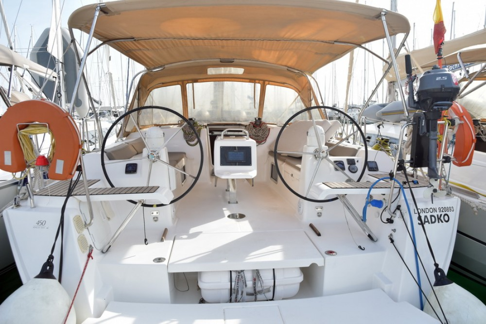 Hire Sailboat with or without skipper Dufour Athens