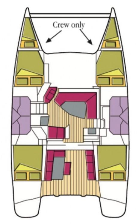 Rental yacht  - Fountaine Pajot Helia 44 on SamBoat