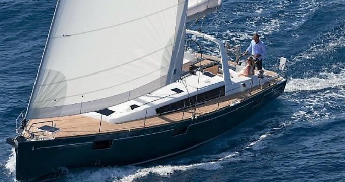Boat rental Λαύριο cheap Oceanis 48