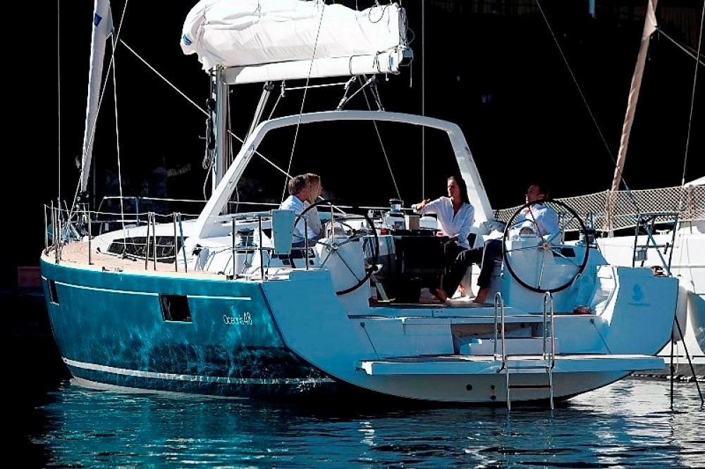 Rental Sailboat in Laurium - Bénéteau Oceanis 48