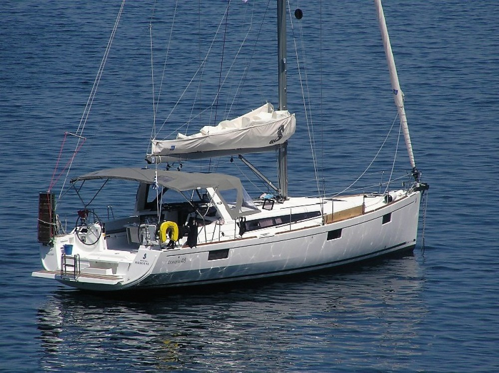Bénéteau Oceanis 48 between personal and professional Laurium