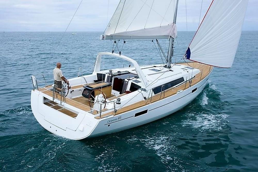 Rental yacht Aegean - Bénéteau Oceanis 45 on SamBoat