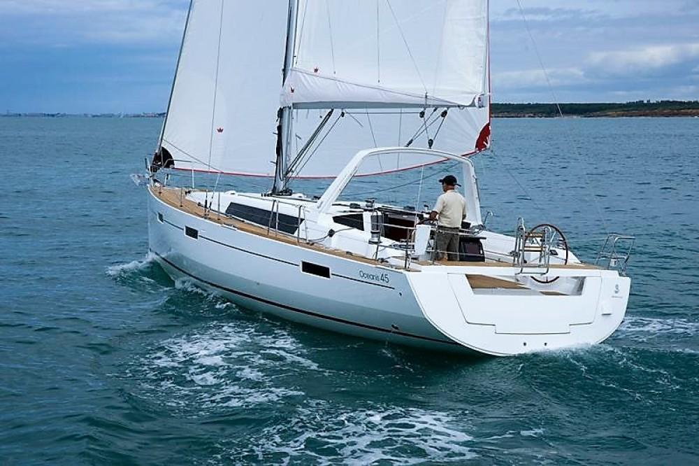Boat rental Aegean cheap Oceanis 45