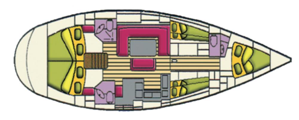 Rental Sailboat in  - Bavaria Bavaria 50 Cruiser