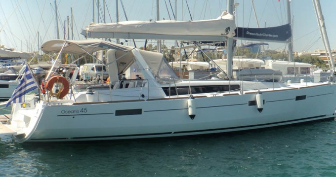 Boat rental Grecia cheap Oceanis 45