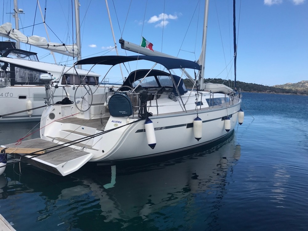Boat rental Sardinia cheap Bavaria Cruiser 46
