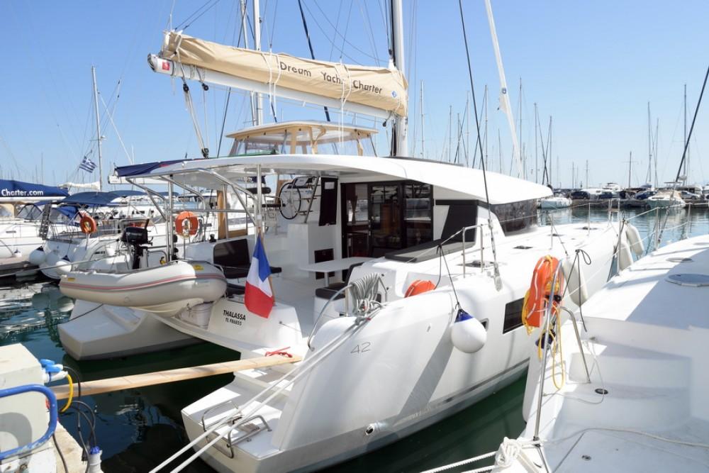 Catamaran for rent Kalafationes at the best price