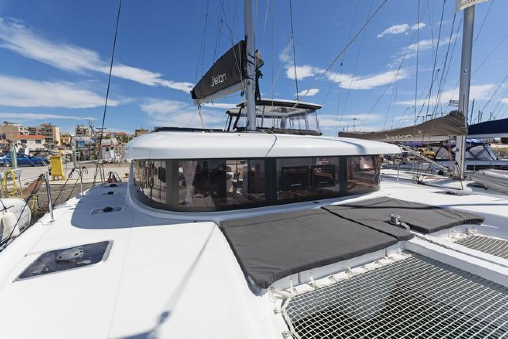 Catamaran for rent Greece at the best price