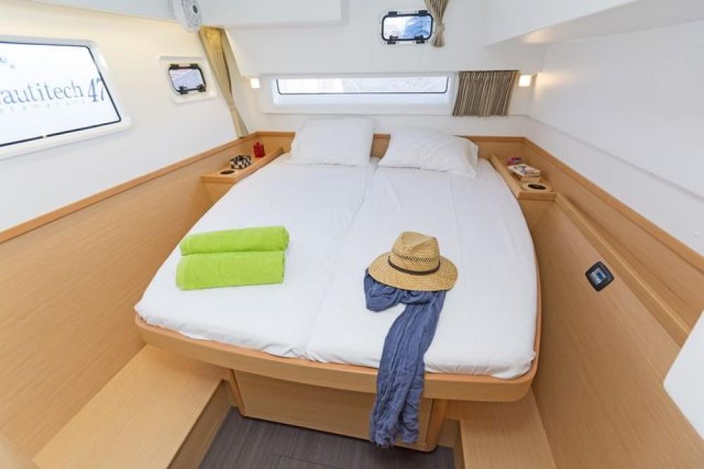Hire Catamaran with or without skipper Lagoon Catamaran Tourlos