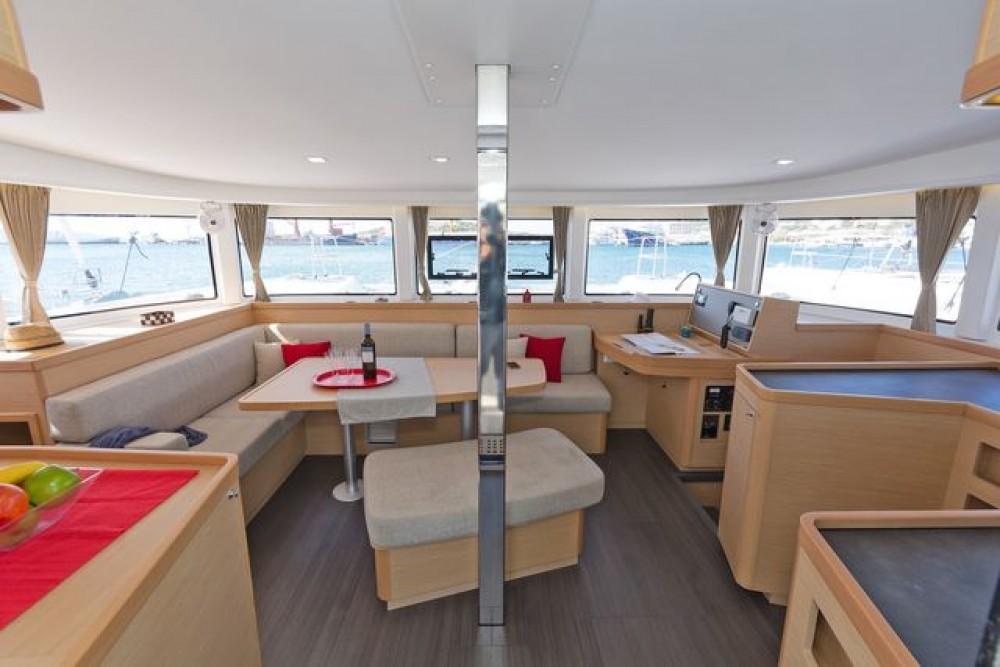Lagoon Catamaran Lagoon 42 between personal and professional Tourlos