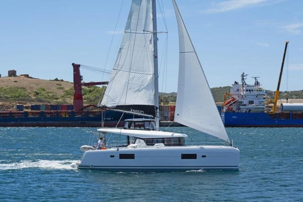 Boat rental Tourlos cheap Lagoon 42