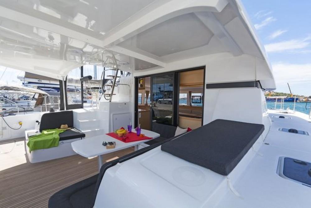 Boat rental Athens cheap Lagoon 42