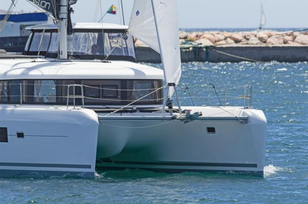 Hire Catamaran with or without skipper Lagoon Catamaran Skiathos