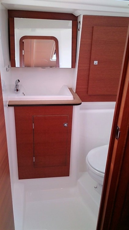 Boat rental Corfu cheap Dufour 382 Grand Large