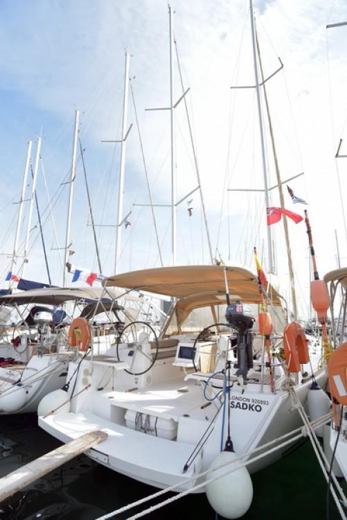 Boat rental Skiathos cheap Dufour 450 Grand Large