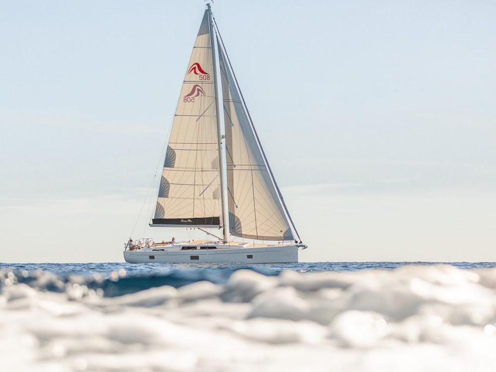 Rental Sailboat in Aegean - Hanse Hanse 508