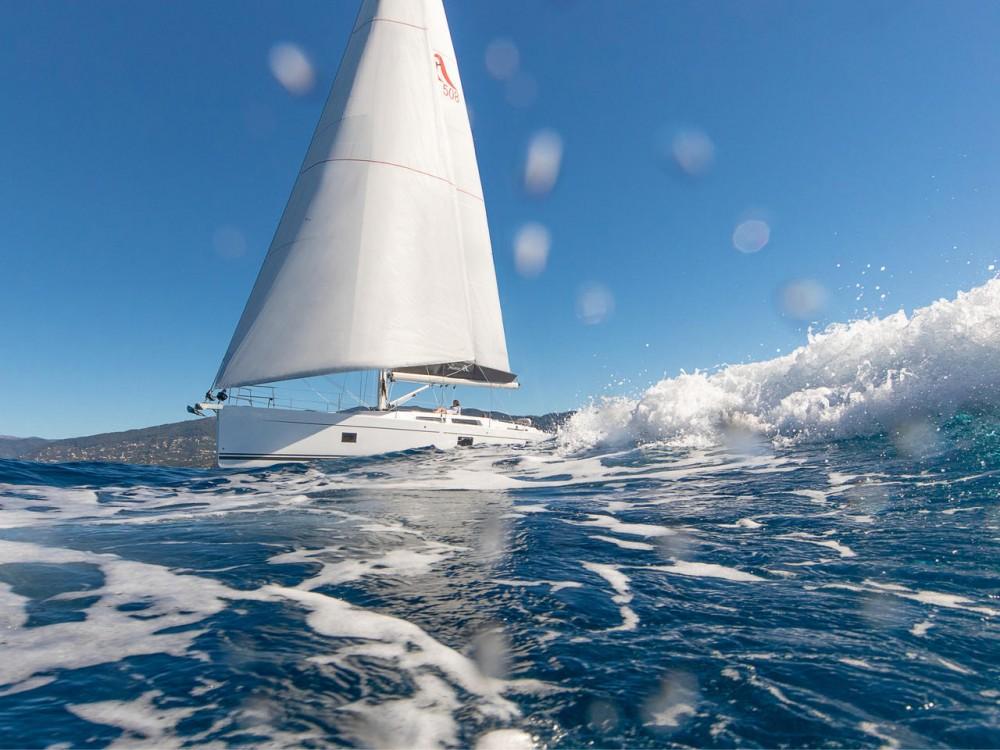 Rental yacht Aegean - Hanse Hanse 508 on SamBoat