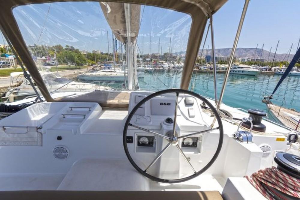 Rental Catamaran in Peloponnese, Western Greece and the Ionian -  Lagoon 450 F