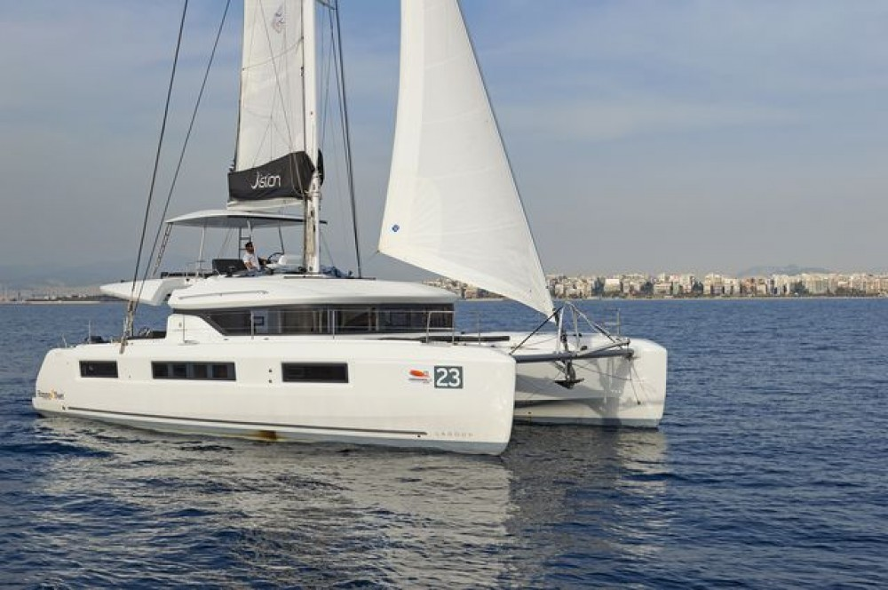 Rental yacht Peloponnese, Western Greece and the Ionian -  Lagoon 50 on SamBoat