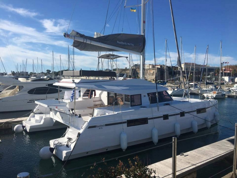 Rental Catamaran in Athens -  Nautitech 46 FLY
