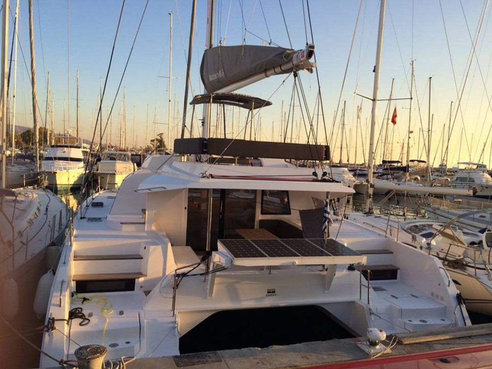 Boat rental Athens cheap Nautitech 46 FLY