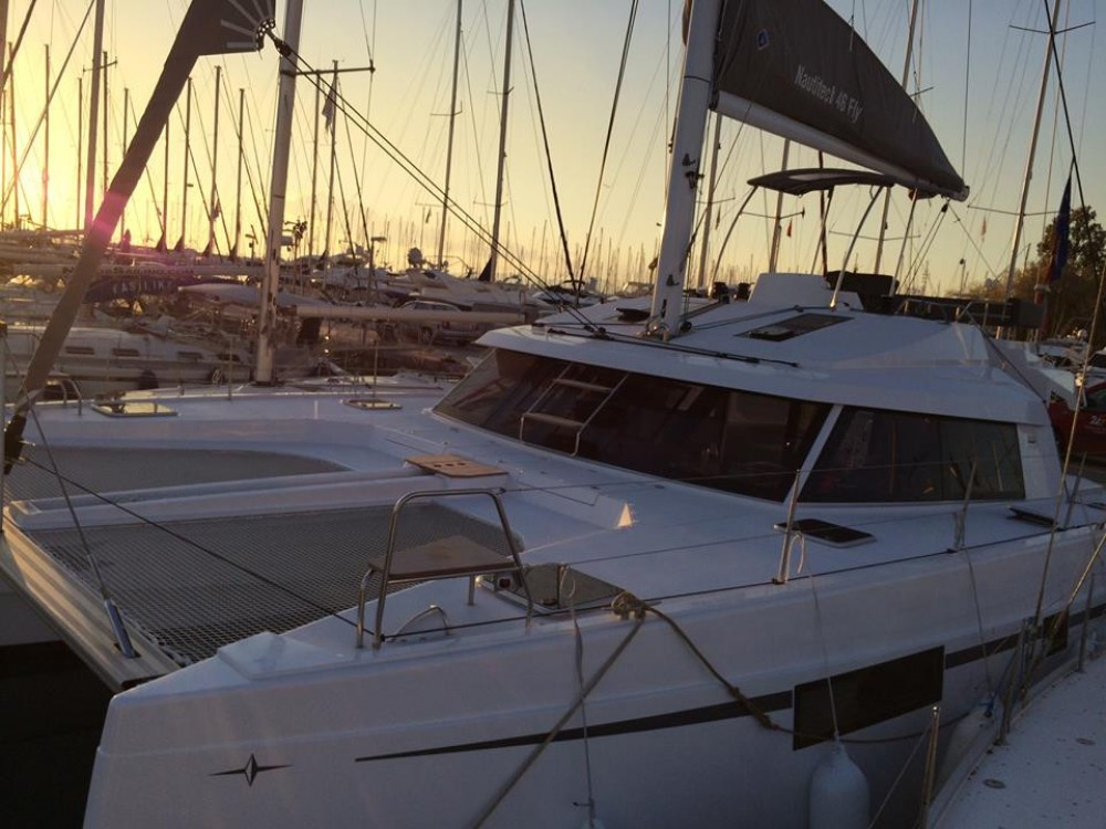 Nautitech 46 FLY between personal and professional Athens