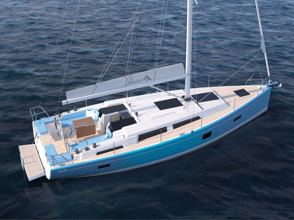 Boat rental Corfu cheap Hanse 388