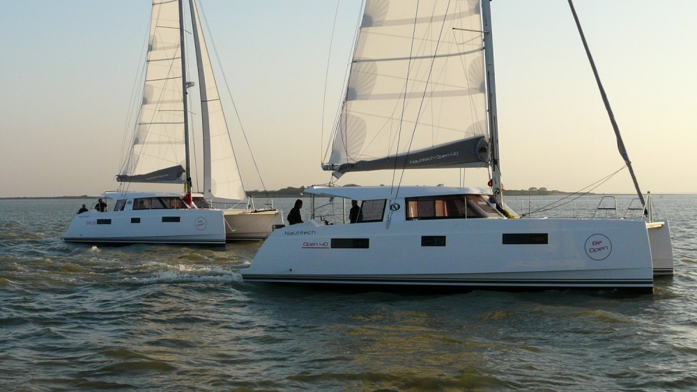 Rental Catamaran in Athens - NAUTITECH CATAMARANS Nautitech 40