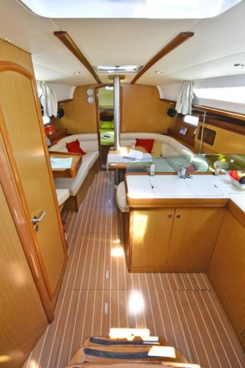 Jeanneau Sun Odyssey 36i between personal and professional Peloponnese, West Greece and Ionian Sea