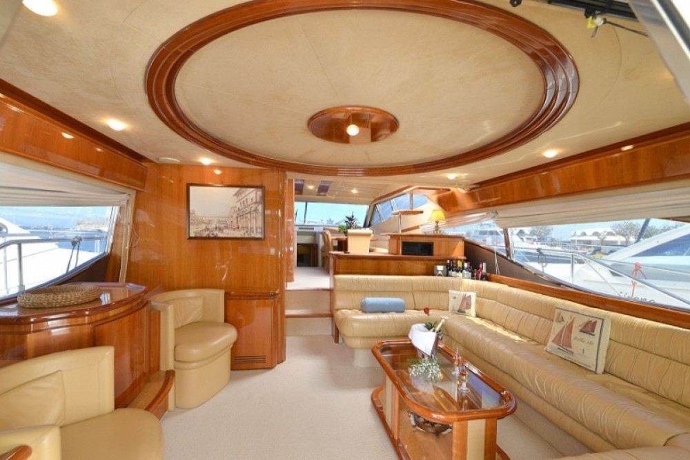 Ferretti 68 between personal and professional Rhodes