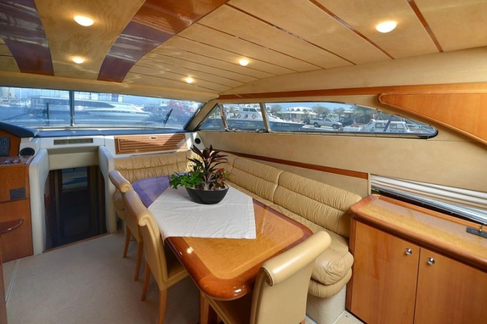 Boat rental Rhodes cheap Ferretti 68