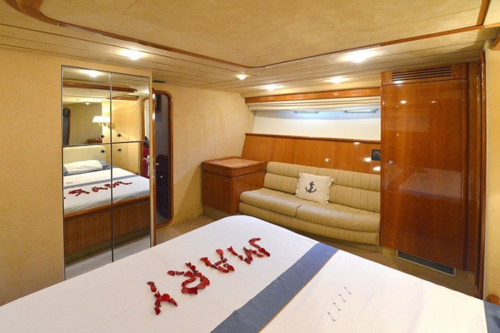 Rental yacht Rhodes -  Ferretti 68 on SamBoat
