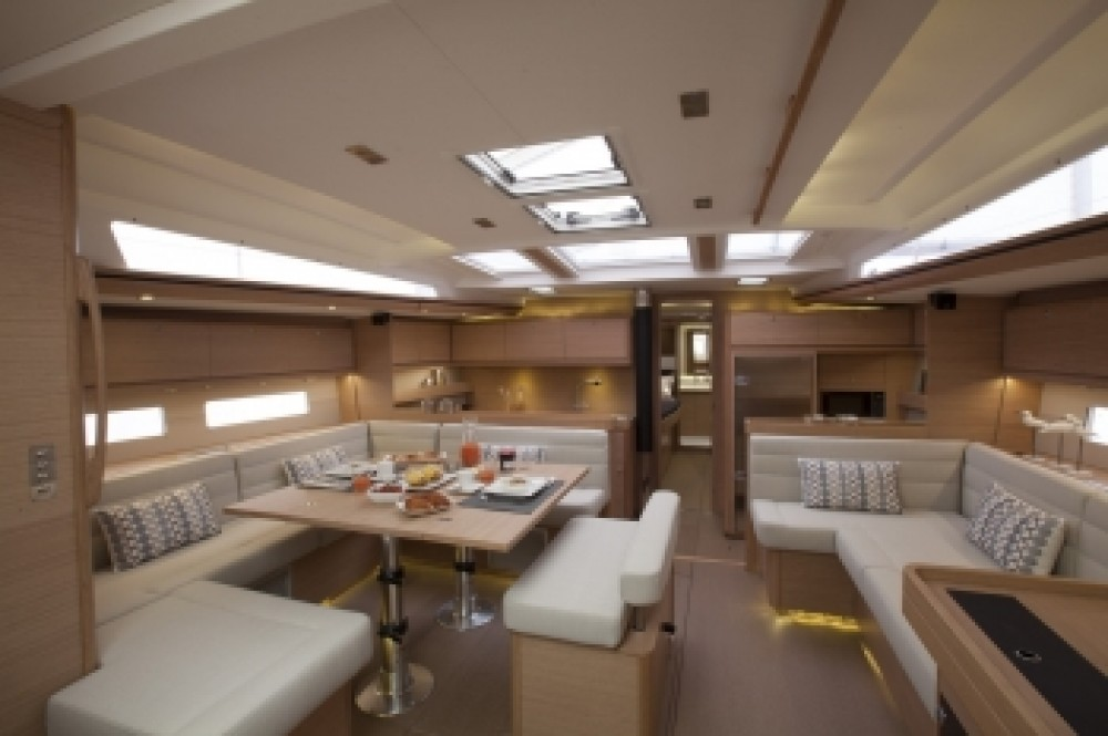 Dufour 560 Grand Large Dufour 560 Grand Large between personal and professional Athens