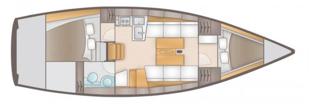 Boat rental Salona Salona 35 in Trogir on Samboat