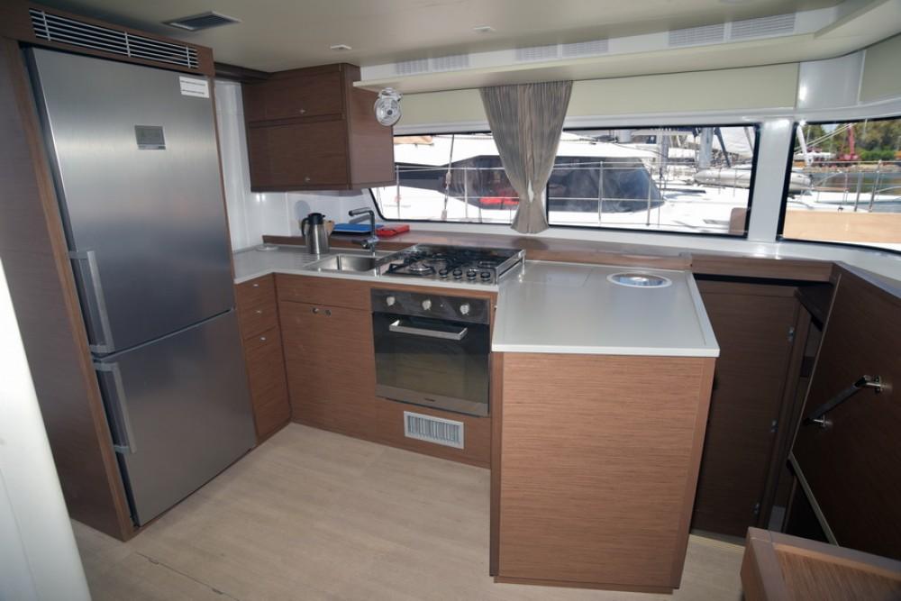 Boat rental Trogir cheap Lagoon 52