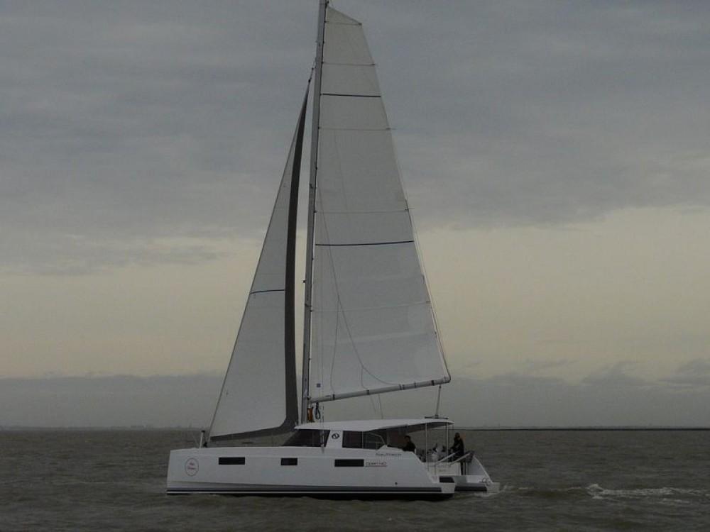 Rental Catamaran in Trogir - NAUTITECH CATAMARANS Nautitech Open 40