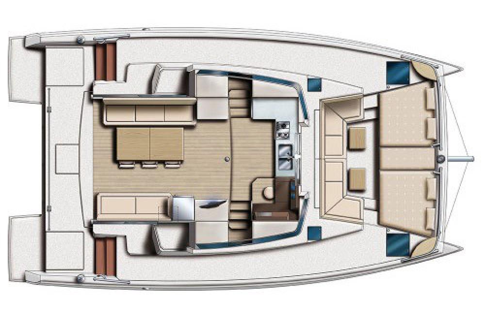 Bali Catamarans Bali 4,0 Owner Version between personal and professional Šibenik