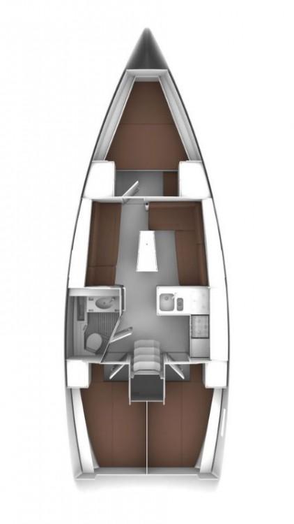 Boat rental  cheap Bavaria Cruiser 37 - 3 cab.