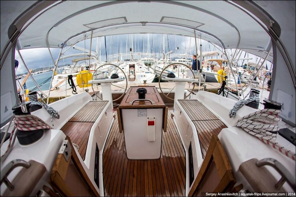 Boat rental Croatia cheap Cruiser 45