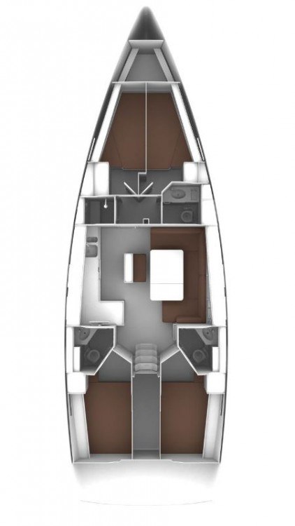 Hire Sailboat with or without skipper Bavaria Split